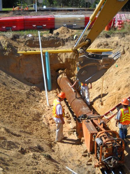 Persimmon Grove Utility Installation